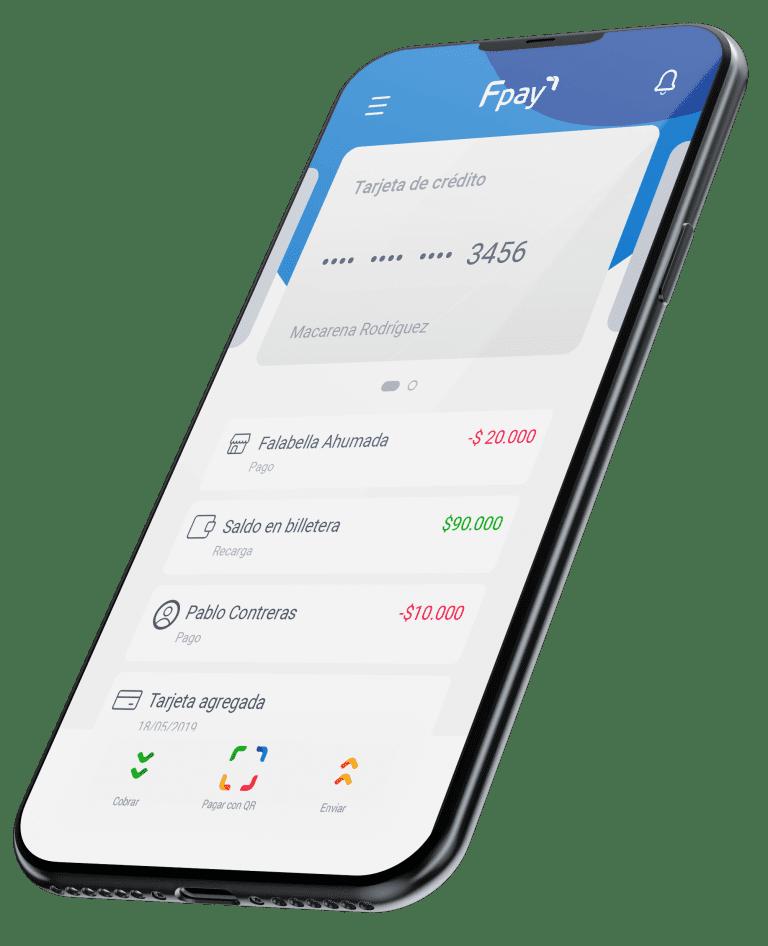 aplicacion fpay en smartphone